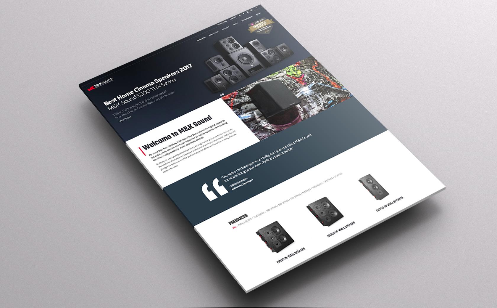 Mk Sound website
