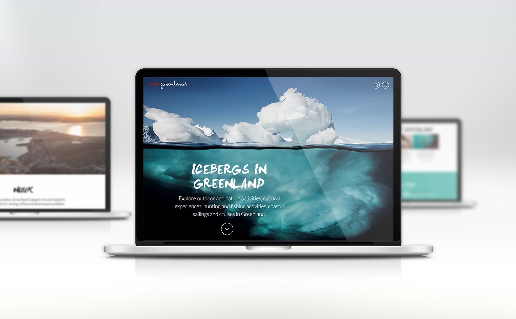Visit Greenland website